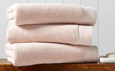 Consejos para escoger toallas y mantenerlas en buen estado