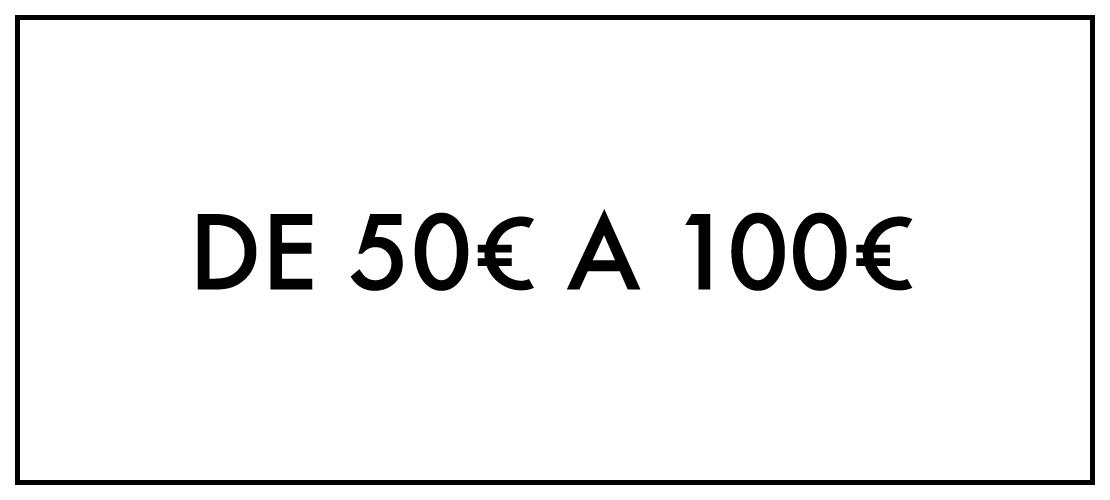 De 50€ até 100€