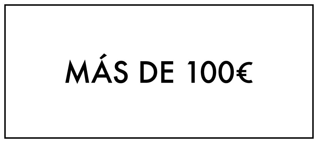 Más de 100€